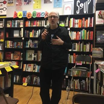 Lloyd Sachs at Book Soup